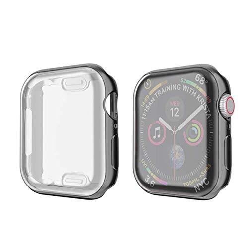 Funda Slim Watch 360 para Apple Watch Case 6 SE 5 4 3 2 1 42MM 38MM Protector de pantalla de TPU suave y transparente para iWatch Series 5 44MM 40MM
