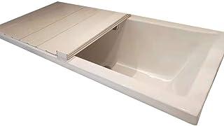 バスタブボードバスタブカバー防塵折りたたみダストボードバスタブ絶縁カバーPVCバスルームトレイ(サイズ:170700.6cm)