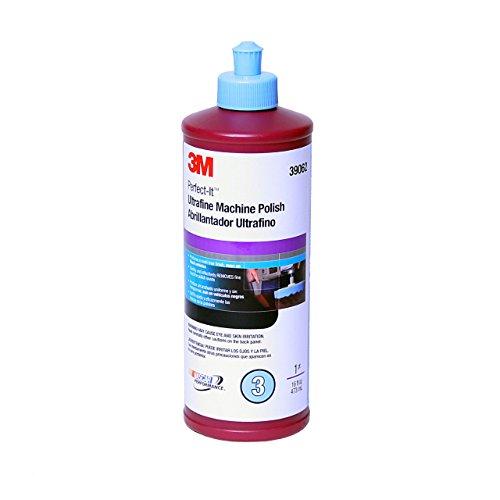 3M Perfect-It EX Ultrafine Machine Polish, 39062, 1 pt(16 fl oz/473 mL