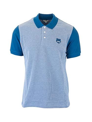 Kenzo Luxury Fashion Herren FA55PO0484BB67 Blau Baumwolle Poloshirt | Frühling Sommer 20