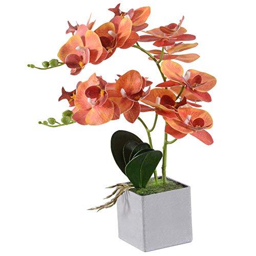 Decorativo Phalaenopsis Fiori Artificiali Disposizione Fiori Artificiali