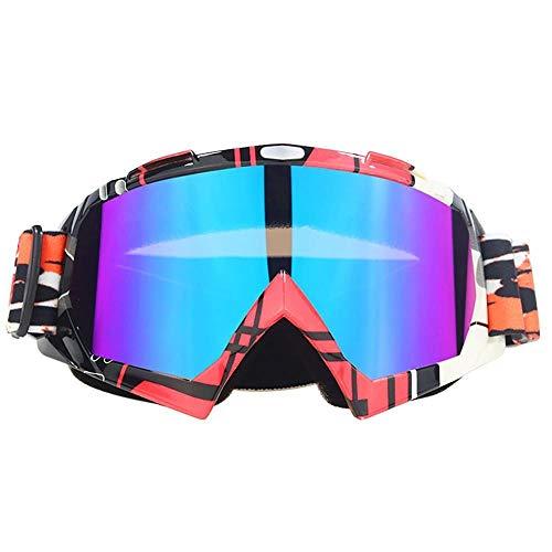 JFSZZ Lentes Deportes Bici de los vidrios de la Bicicleta de montaña Pesca Eyewear Gafas de Sol UV400 de Ciclismo (Color : A19)