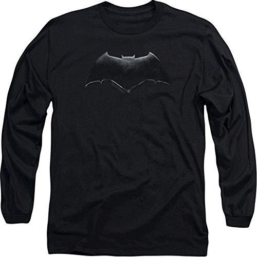 Amacigana Justice League Film Batman T-shirt unisexe à manches longues pour homme et femme - Multicolore - Medium