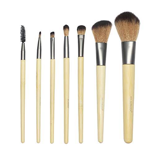 MPKHNM Seven Pack Pinceau De Maquillage En Bambou Naturel Explosion Du Commerce Extérieur Beauté Kit De Maquillage Multifonctionnel Pinceau Ombre À Paupières