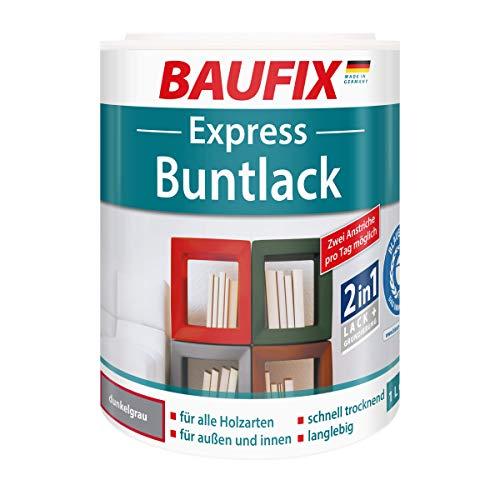 BAUFIX Express Buntlack Spezial-Decklack, dunkelgrau, 1L