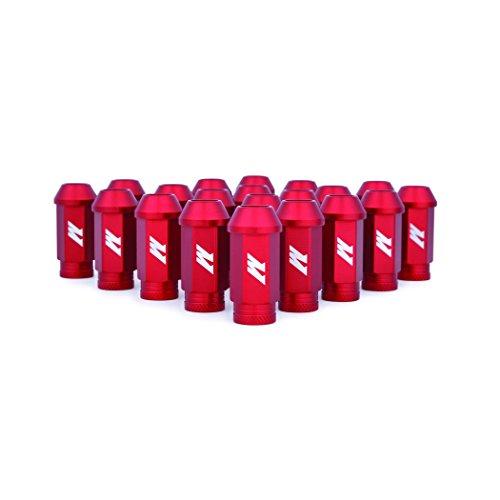 Mishimoto - MMLG-15-LOCKRD Aluminum Locking Lug Nuts, M12 x 1.5, Red