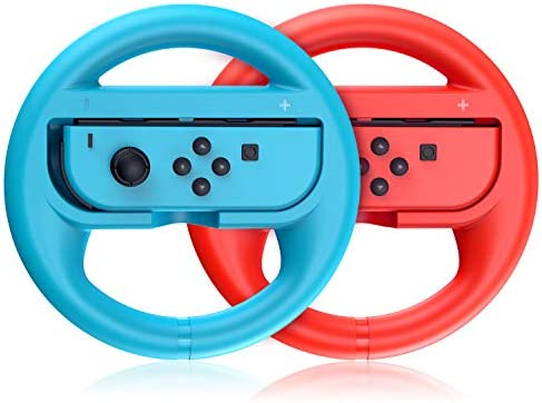 VOYEE Replacement for Nintendo Switch Steering Wheel Compatible with Mario Kart 8 Deluxe Nintendo product image