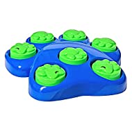 Invero 8 Piece Fun Dog Interactive Puzzle Training Activity Game Toy - Sniff & Lift Action 25 x 26 x 5cm