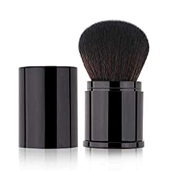 commercial Retractable Kabuki Makeup Brush Powder Brush Foundation Travel Foundation Brushing Brush… retractable kabuki brush