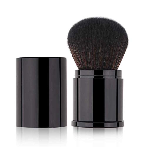 Retractable Kabuki Makeup Brush Powder Brushes Foundation Travel Foundation Brush for Blush Bronzer & Powder