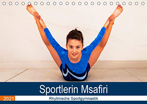Rhythmische Sportgymnastik (Tischkalender 2021 DIN A5 quer)