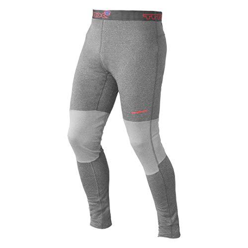 Trangoworld TRX2 Wool Pro Pantalon Long intérieur, Homme M Gris foncé/Gris Clair