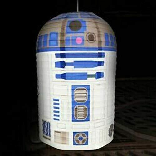 Lampenschirm R2-D2 aus Papier original Star Wars