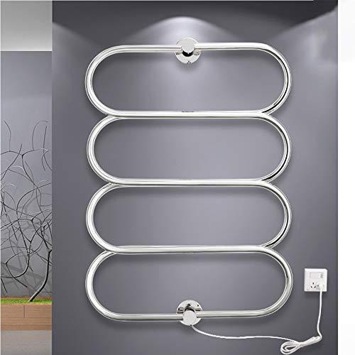 Best Prices! ZJINHUI Electric Towel Rack Wall Mounted Towel Warmers with Plug in Heated Towel Rack C...