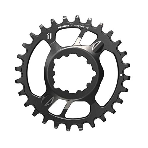 Sram X-SYNC 2 Steel Direct Mount 3mm Offset Boost Eagle, Corona. Unisex-Adulto, Nero, 32 denti