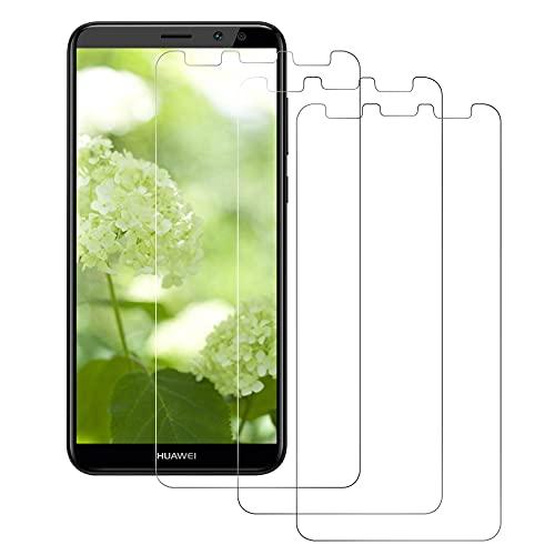DOSMUNG Panzerglas kompatibel mit Huawei Mate 10 Lite [3 Stück], Schutzfolie für Huawei Mate 10 Lite - Anti-Öl, Anti-Bläschen, Anti-Kratzer, HD Panzerglasfolie für Huawei Mate 10 Lite