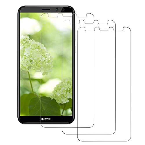 DOSMUNG Protector de Pantalla para Huawei Mate 10 Lite, [3 Pack] Cristal Templado, Alta Definicion/9H Dureza/Anti Arañazos/Sin Burbujas Vidrio Templado Película para Huawei Mate 10 Lite