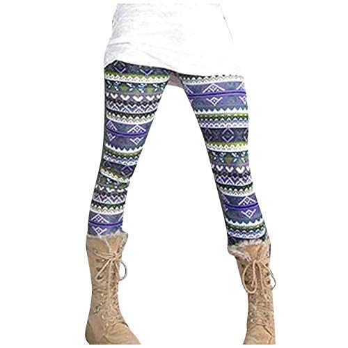 Womens Playsuit, Women's Printed Elastic All-Match Slim Casual Long Boot Pants Legging Pants for Summer Holiday