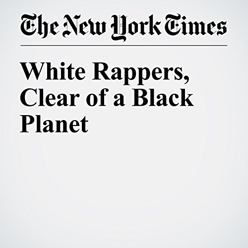 White Rappers, Clear of a Black Planet audiobook cover art