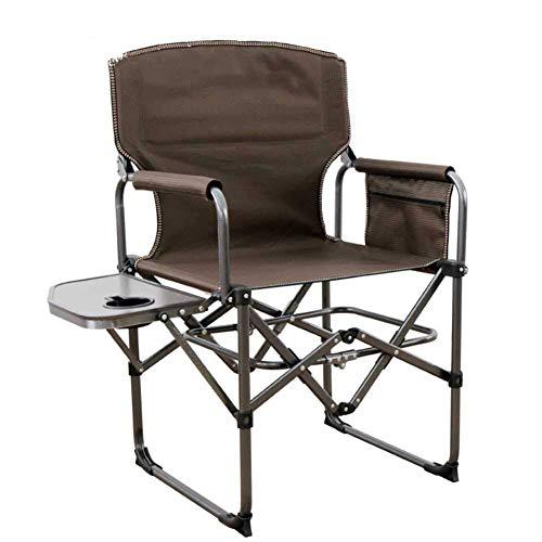 Extérieur Camping Chaise Pliante avec Porte-gobelet, Portable Compact Beach Lounge Chaise randonnée Plage pêche Jardin Lourd fardeau,B