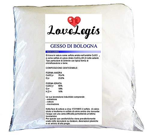 Gesso di Bologna - Doratura - Amminatura - Stucchi di Alto Pregio - Alta qualita - 3Kg - Idea Regalo Natale e Compleanno