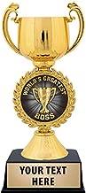 Worlds Greatest Boss Trophy, 7 1/4
