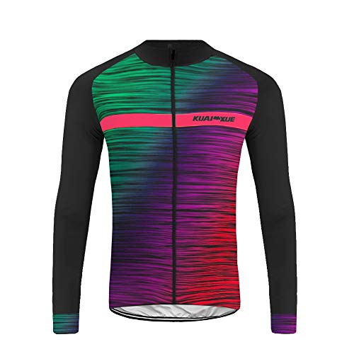 Uglyfrog HIWLJ11 Ciclismo MTB Abbigliamento Bici Uomo Inverno Termico Mens MTB Breathable Cycling Jersey Road Bike Biking Clothing Riding Sportswear Bicycle Shirt Maglia Lunga