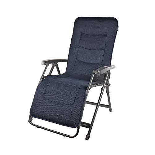 Westfield Lounge Sessel | Camping Stuhl | Liegestuhl | Aeronaut | Grau | 140 Kg