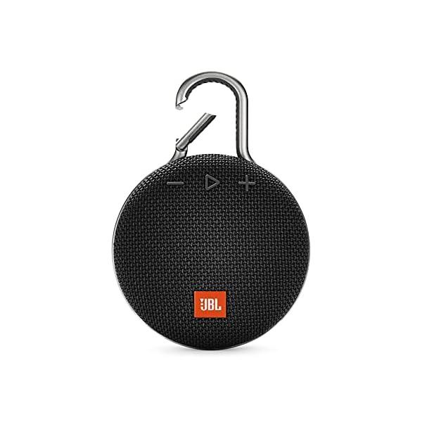 JBL CLIP 3 – Waterproof Portable Bluetooth Speaker – Black