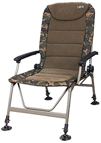 Fox R3 Camo Chair Angelstuhl, Anglerstuhl, Karpfenstuhl, Campingstuhl, Stuhl zum Angeln für Angler
