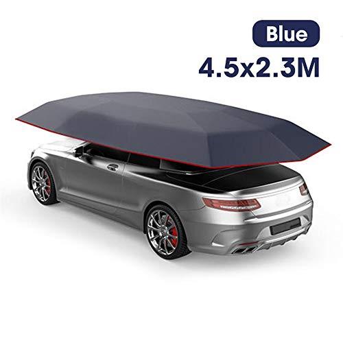 Tenda da auto portatile Tenda da auto, Tenda da auto Telo da tetto Telo isolante da auto Tettuccio parasole Telone impermeabile Antipioggia Protezione