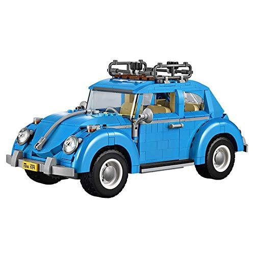 Legxaomi Coche ladrillos autobús compatible 10220 10252 10242 modelo bloques de construcción niños niñas regalos de cumpleaños juguetes para niños withManualNoBoxC