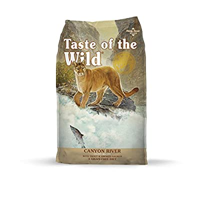 Taste of the Wild Grain Free High Protein Real Meat Recipe Canyon River Premium Dry Cat Food - (Discontinued size by manufacturer)