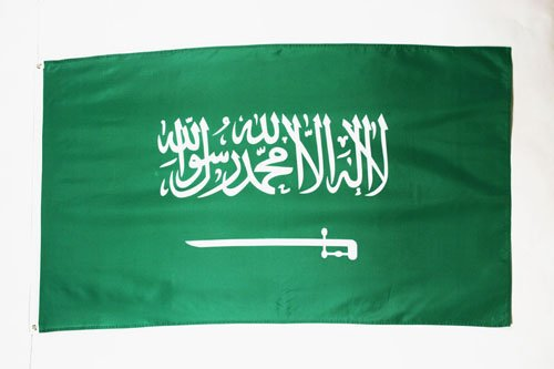AZ FLAG Flagge Saudi-ARABIEN 150x90cm - Saudi-ARABISCHE Fahne 90 x 150 cm - flaggen Top Qualität