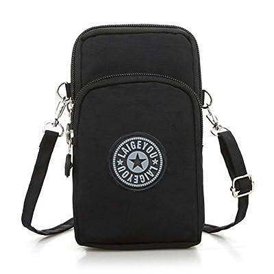 Honeststar Ladies Girls Nylon Design Small Crossbody Shoulder Bag Wristlet Handbags
