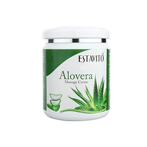 ESTAVITO Aloevera Massage Cream 500gms For Instant Glow and complete Nourishment.