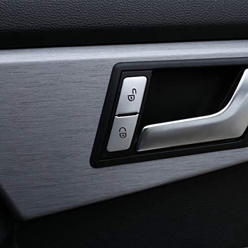 4 stks/set Legering Voordeur slot knop sticker Trim Voor GLK GLS GLE ML320 400 450
