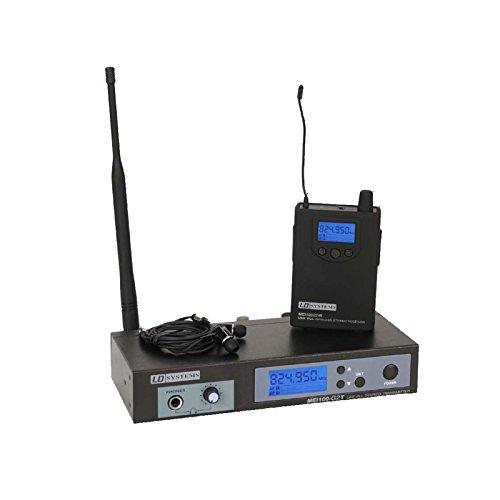 LD Systems LDMEI100G2-mei-100g2monitoraje-System kabellos in-Ear oneSize