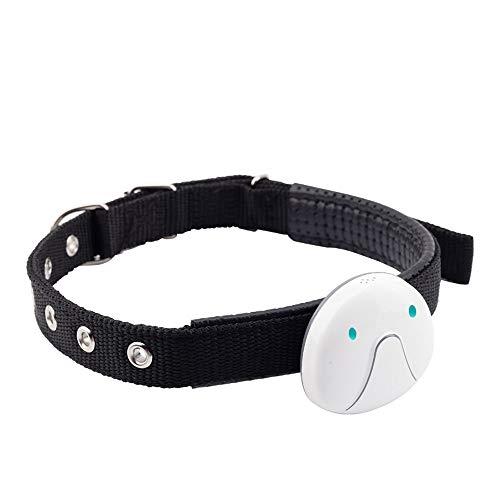 Djflight GPS-halsband voor honden en katten, dieren, GPS-tracker voor huisdieren, mini smart tracker voor honden