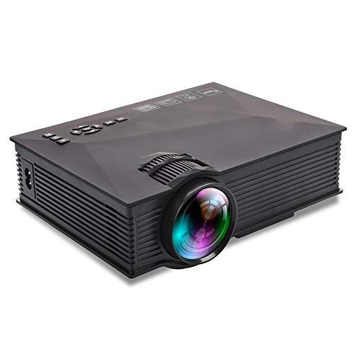 MGWA Proyector Proyector Portátil Nuevo Proyector Casero del LED Puede Ser Micro-Poder De Entretenimiento Móvil Externo HD 1080