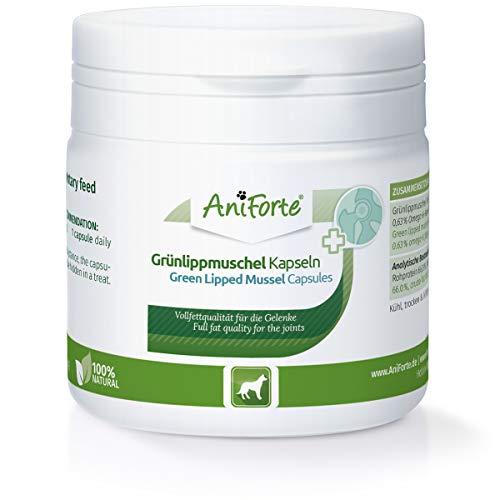aniforte Green Lipped MUSSEL Capsules 100 Tablets-Natural Product For Dogs