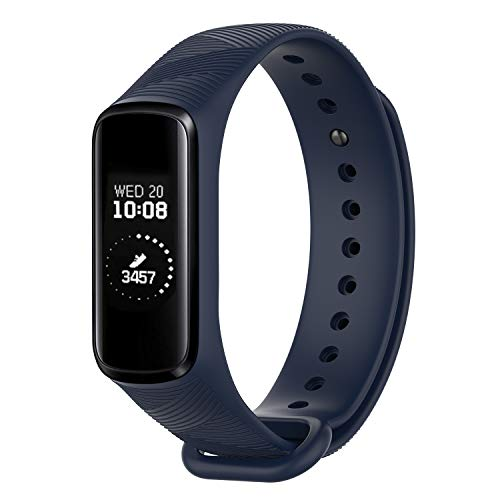 Fyoung Armband, kompatibel mit Samsung Galaxy Fit E SM-R350, verstellbar, Sportzubehör, Ersatzband für Galaxy Fit, Fitness