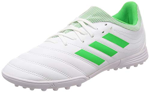 adidas Copa 19.3 Tf J, Scarpe da Fitness Unisex-Bambini, Multicolore (Ftwbla/Limsol/Ftwbla 000), 38 EU