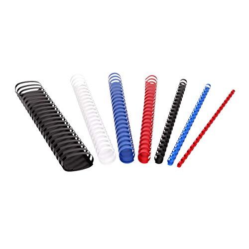 TTO - Canutillos de plástico (8 mm), color azul