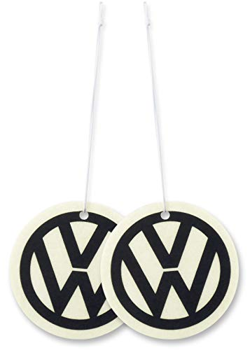 BRISA VW Collection - Volkswagen Luft-Erfrischer, Duft-Spender, Duft-Baum fürs Auto/KFZ (Energy/VW /2ER Set)