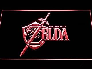 Legend of Zelda Video Game LED Neon Light Sign Man Cave E040-R