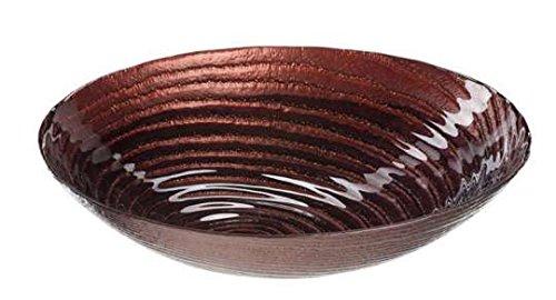 LEONARDO - Castagna - Glasschale, Obstschale, Schale, Schüssel - Ø: 32 cm - organische Form