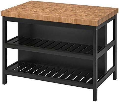 Ikea Vadholma Kitchen Island Black Oak 49 8 203. Al sold out. 3 Quantity limited 5 1 8x31 8x35