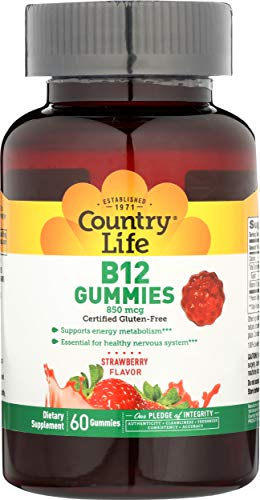 Country Life B 12 Gummies 60 Gummy