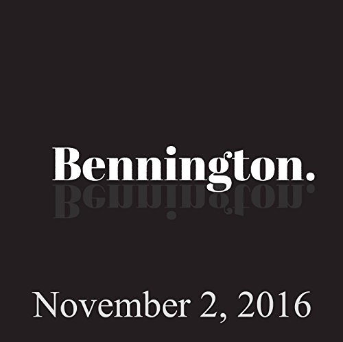 Bennington, Open Mike Eagle, November 2, 2016 cover art